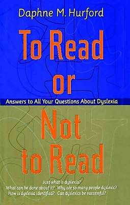 Simon & Schuster To Read or Not to Read: Answers to All Your Questions About Dyslexia Book