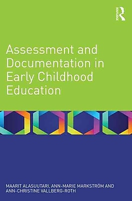 Taylor & Francis Assessment and Documentation in Early Childhood Education Book