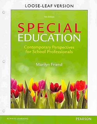 Pearson Special Education Loose-Leaf Version Book