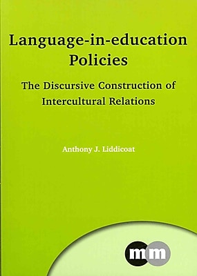 UTP Distribution Language-in-education Policies: The Discursive Construction of.. Paperback Book