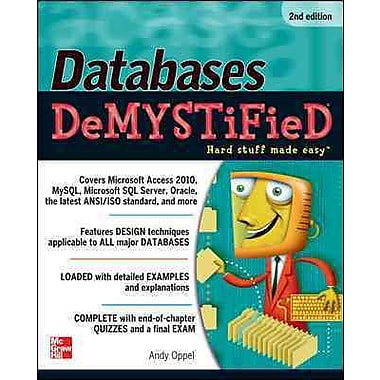 McGraw-Hill Education Databases DeMYSTiFieD Book