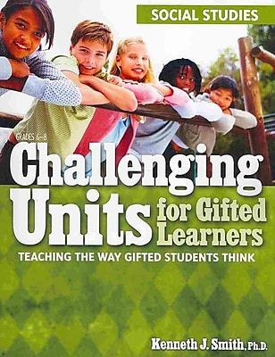 Sourcebooks Challenging Units for Gifted Learners: Social Studies Book