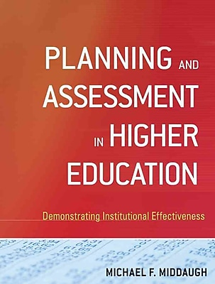 John Wiley & Sons Planning and Assessment in Higher Education Book