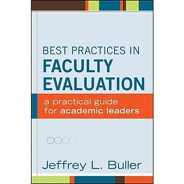 John Wiley & Sons Best Practices in Faculty Evaluation Book