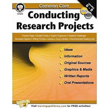 Carson Dellosa Common Core Conducting Research Projects Resource Book