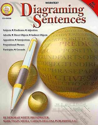 Carson Dellosa Diagramming Sentences Resource Book
