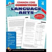 Carson Dellosa Common Core Connections Language Arts Workbook, Grades 4