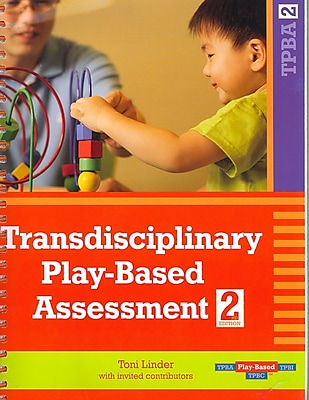 Brookes Publishing Co Transdisciplinary Play-Based Assessment Book