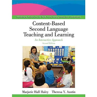 Pearson Content-Based Second Language Teaching and Learning: An.. Paperback Book