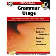 Carson Dellosa Common Core: Grammar Usage Resource Book, Grades 6 - 8