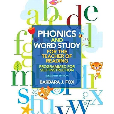 Pearson Phonics and Word Study for the Teacher of Reading Book