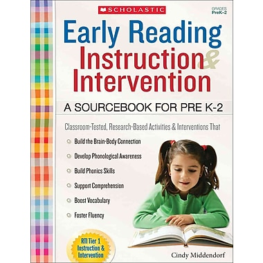 Scholastic Teaching Resources Early Reading Instruction and Intervention Book, Grades PreK-2