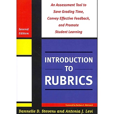 Stylus Publishing Introduction To Rubrics Paperback Book