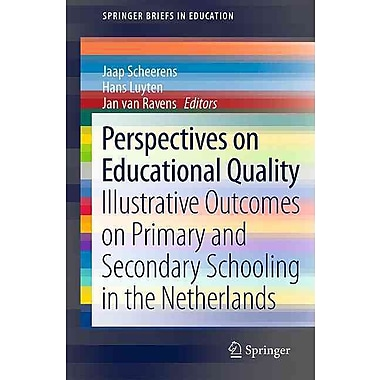 Springer Perspectives on Educational Quality Book