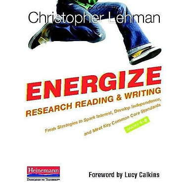 Heinemann Energize Research Reading and Writing Book