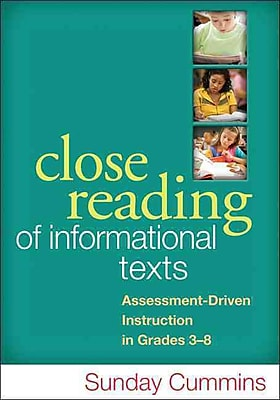 Guilford Press Close Reading of Informational Texts Paperback Book
