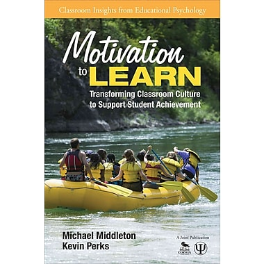 Corwin Motivation to Learn: Transforming Classroom Culture to Support Student Achievement Book