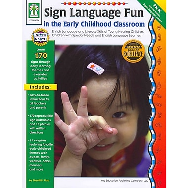 Carson Dellosa Sign Language Fun in the Early Childhood Classroom Resource Book