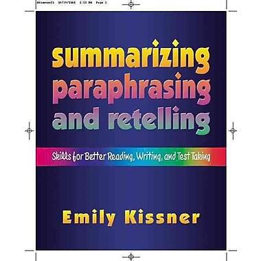 Heinemann Summarizing, Paraphrasing, and Retelling Book
