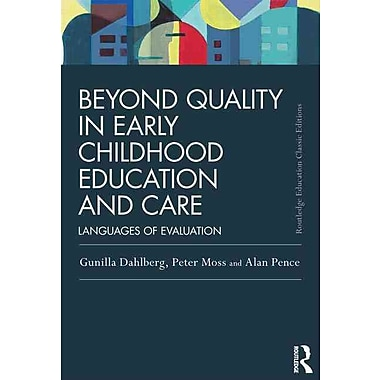 Taylor & Francis Beyond Quality in Early Childhood Education and Care Book