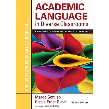 Corwin Academic Language in Diverse Classrooms: English Language.. Paperback Book, Grades K - 2