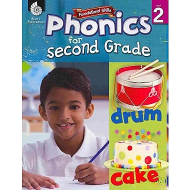 Shell Education Phonics for Second Grades Book, Grades 2