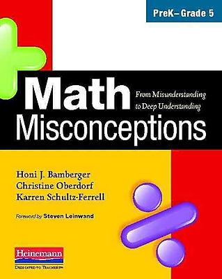 Heinemann Math Misconceptions Book, Grades PreK - 5