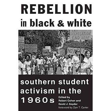 Johns Hopkins University Press Rebellion In Black and White Paperback Book