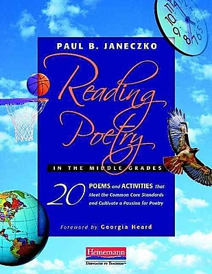Heinemann Reading Poetry in the Middle Grades Book