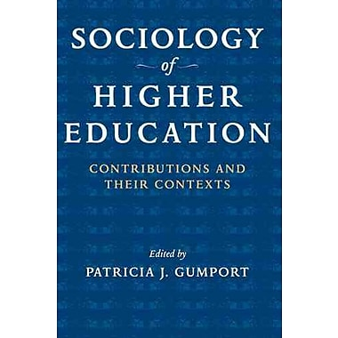 Johns Hopkins University Press Sociology of Higher Education Book