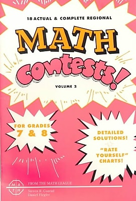 Mathematics Leagues 2 Vol. Math Contests Book, Grades 7 - 8