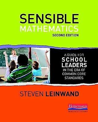 Heinemann 2nd Edition Sensible Mathematics Second Edition Book, Grades K - 12