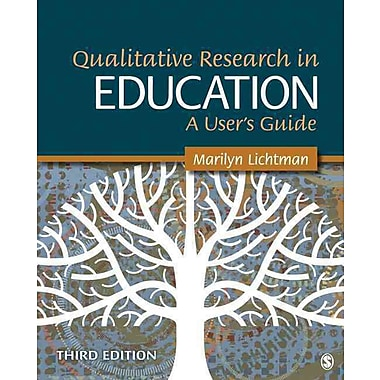 Sage Publications Qualitative Research in Education User's Guide