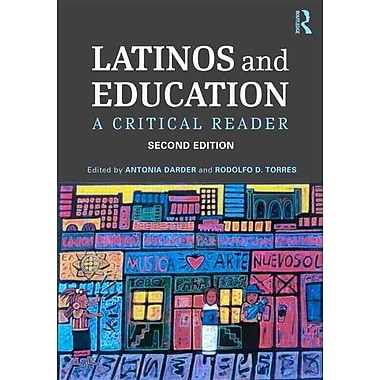 Taylor & Francis Latinos and Education Book