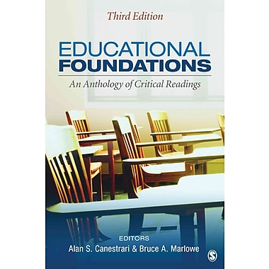 Sage Publications Educational Foundations Book