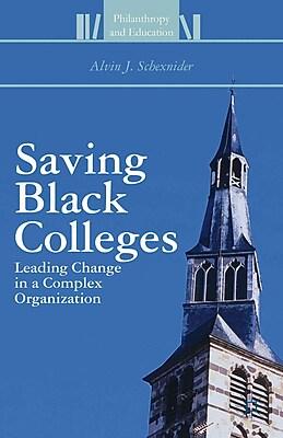 Palgrave Macmillan Saving Black Colleges Book
