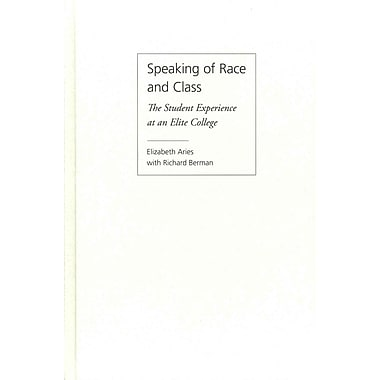 Temple University Press Speaking of Race and Class Hardback Book