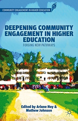 Palgrave Macmillan Deepening Community Engagement in Higher Education Book