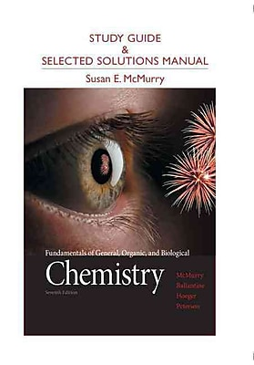 Pearson Study Guide and Selected Solutions Manual for Fundamentals of General, Organic, 7th Edition