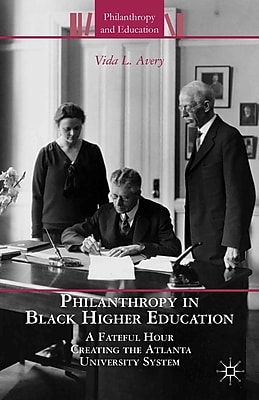 Palgrave Macmillan Philanthropy in Black Higher Education Book