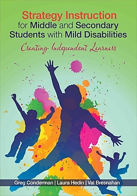 Corwin Strategy Instruction for Middle and Secondary Students with Mild Disabilities Book