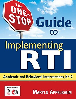 Corwin Press The One-Stop Guide to Implementing RTI Book