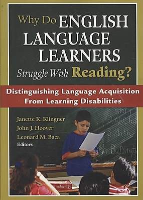 Corwin Why Do English Language Learners Struggle With Reading? Book