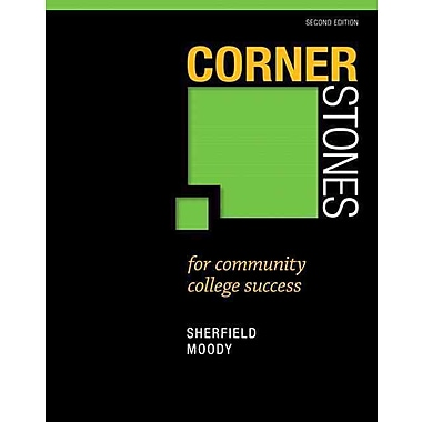 Pearson Cornerstones For Community College Success Paperback Book, 2nd Edition