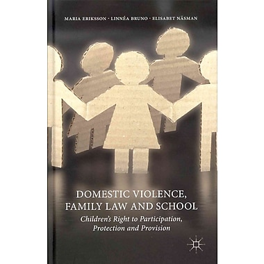 Palgrave Macmillan Domestic Violence, Family Law and School Book