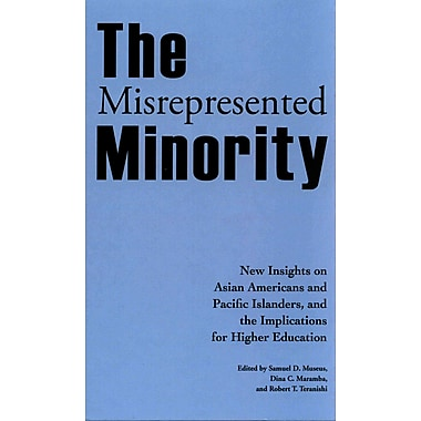 Stylus Publishing The Misrepresented Minority Hardback Book