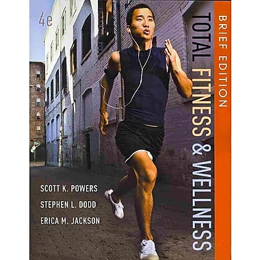 Pearson Total Fitness & Wellness Brief Edition Book, New Book