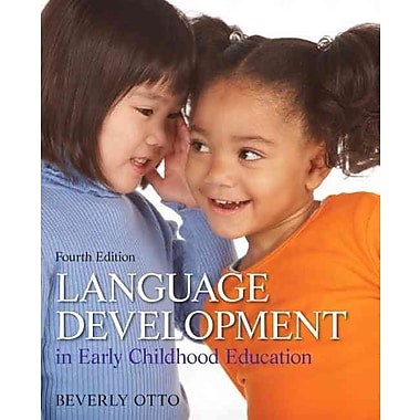 Pearson Language Development in Early Childhood Education Book