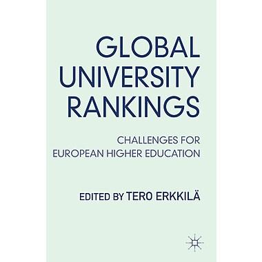 Palgrave Macmillan Global University Rankings Book