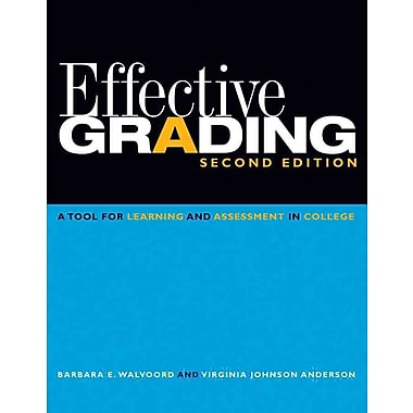John Wiley & Sons Effective Grading Book